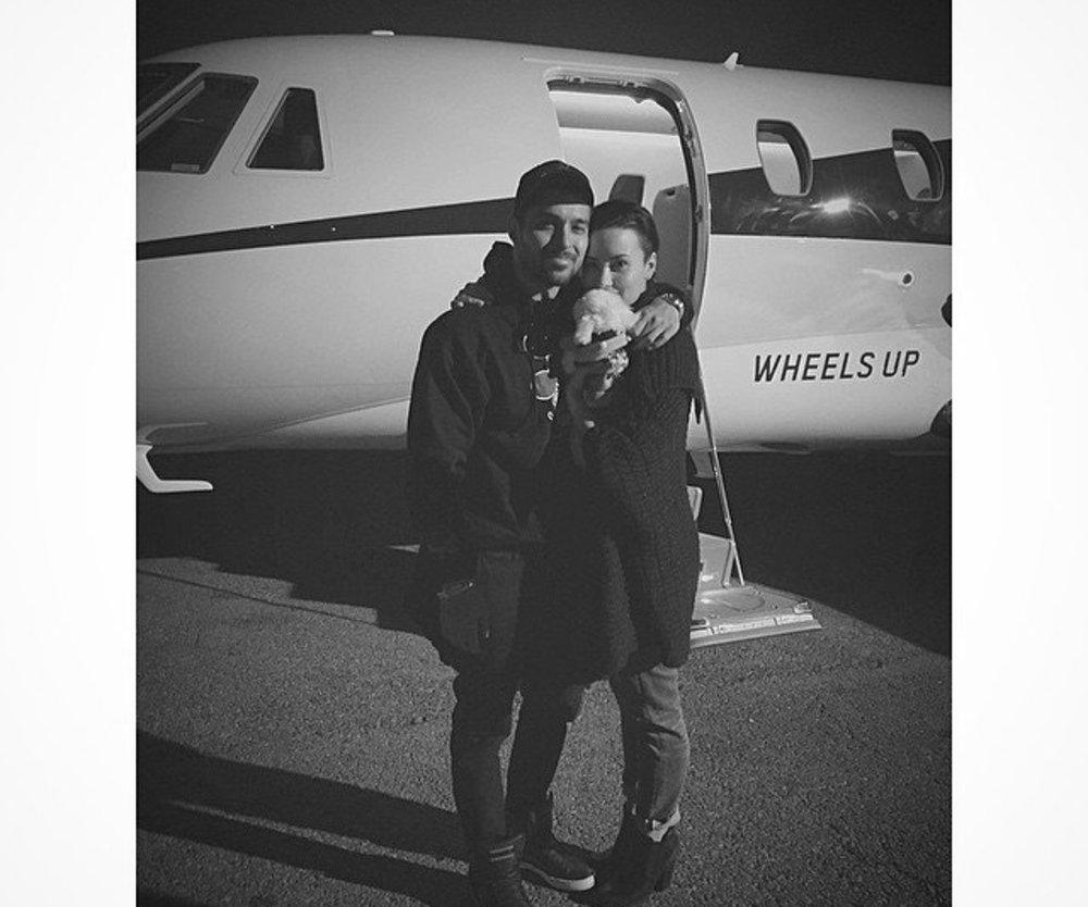 Demi Lovato genießt ihr Liebesglück