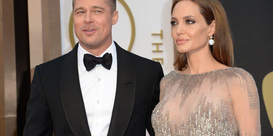 Angelina Jolie: Ist sie sauer auf Brad Pitt?