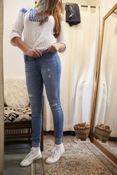 Jeanshose weiten