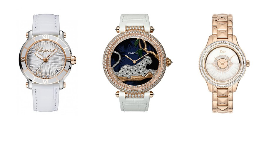 Chopard, Cartier, Dior