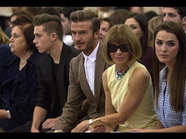Victoria Beckham Fashion Show