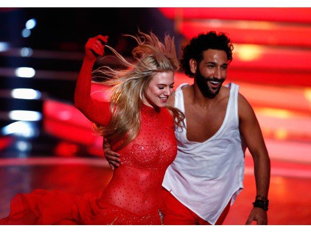 """Let's Dance"": Larissa Marolt und Massimo Sinató"