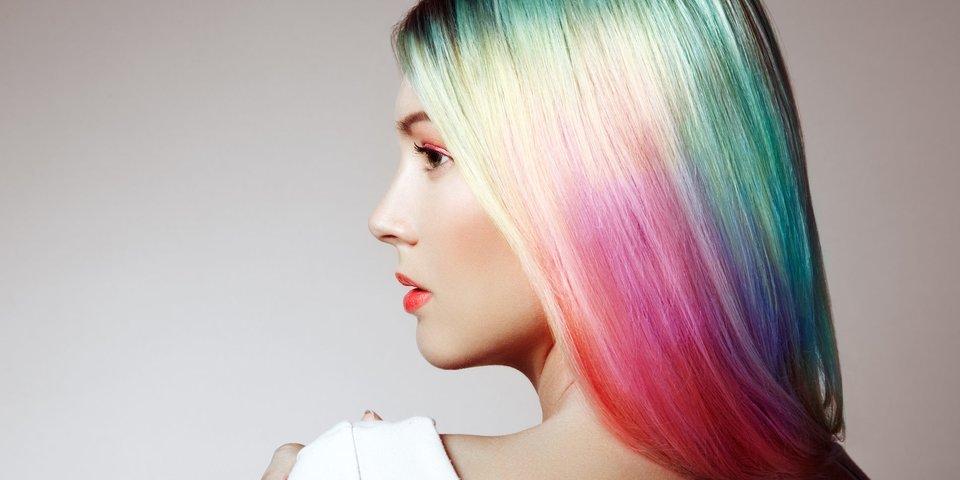 Haare färben weiße Haare weiß