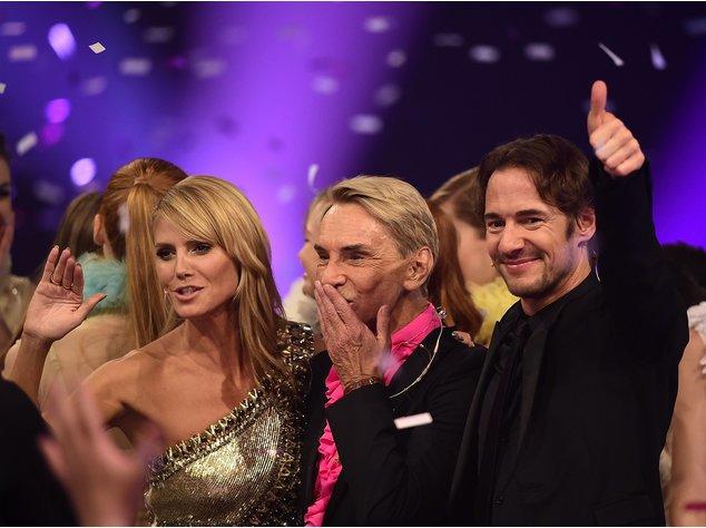 GNTM-Jury beim Finale 2014