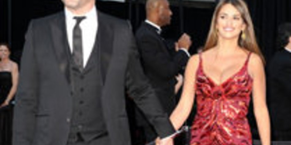 Penélope Cruz & Javier Bardem bei den Oscars 2011