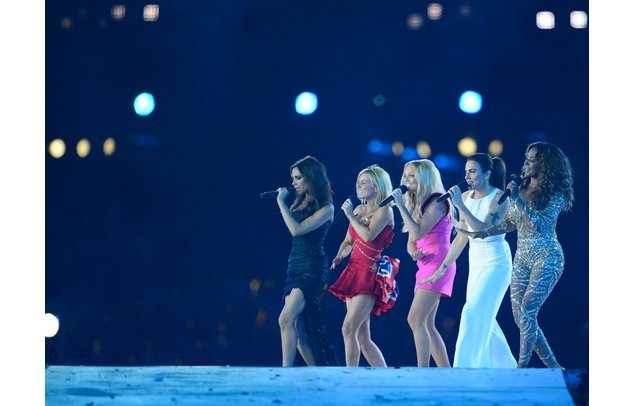 Die Spice Girls begeisterten das Publikum in London.