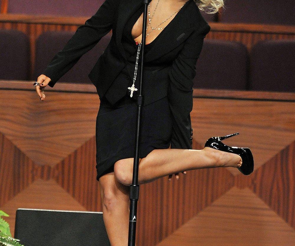 Christina Aguilera berührte mit Auftritt