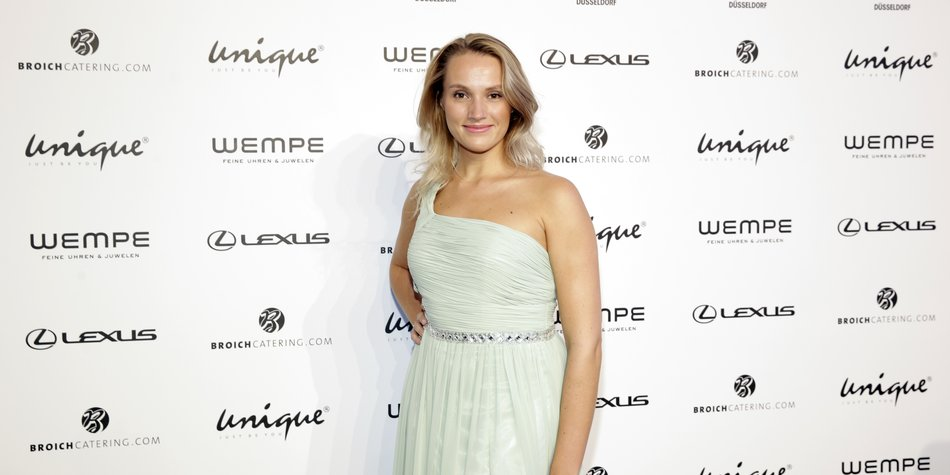 DUESSELDORF, GERMANY - JULY 23: Anna Hofbauer attends the Unique show during Platform Fashion July 2016 at Areal Boehler on July 23, 2016 in Duesseldorf, Germany. (Photo by Sebastian Reuter/Getty Images for Platform Fashion)