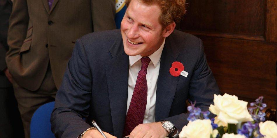 Prinz Harry tritt USA-Reise an