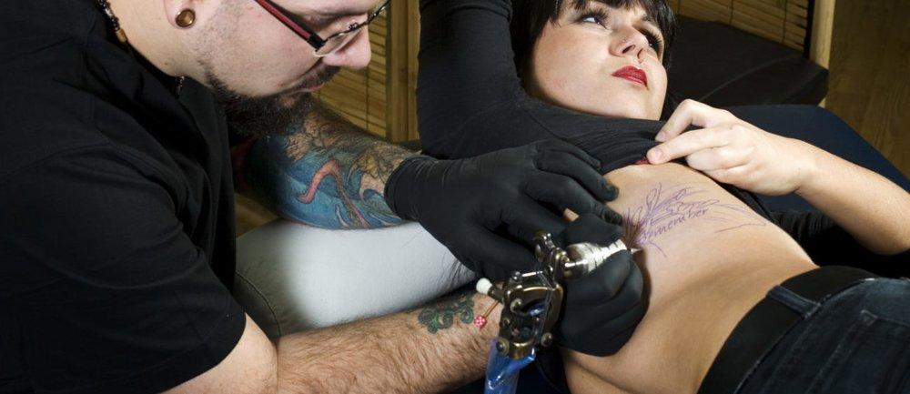Tattoo-Schmerzen