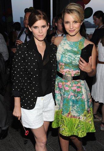Dianna Agron und Kate Mara.