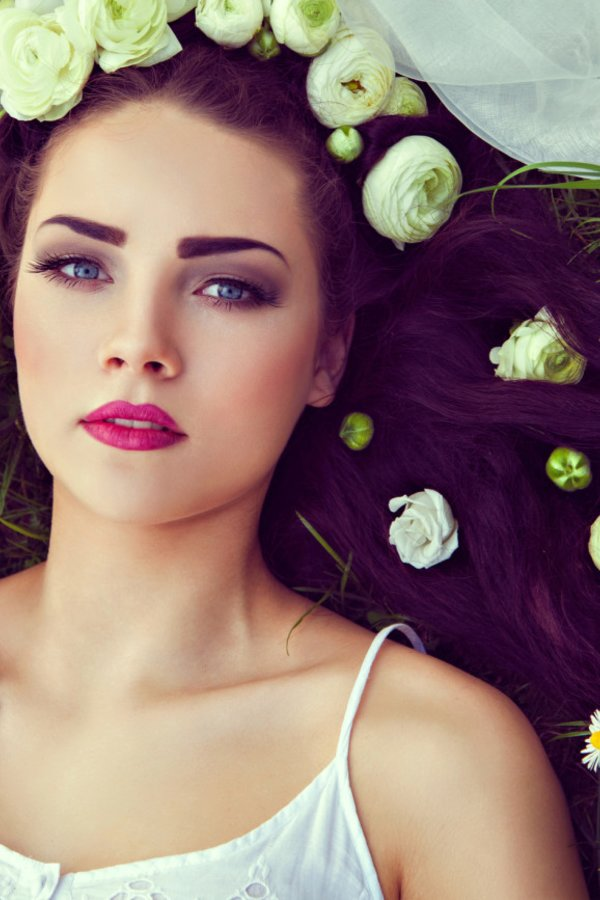 Brautfrisur Mit Blumen Tipps 17 Tolle Ideen Desired De