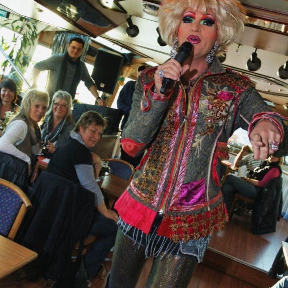 Olivia Jones verspricht sich Großes von Claudelles TV-Show