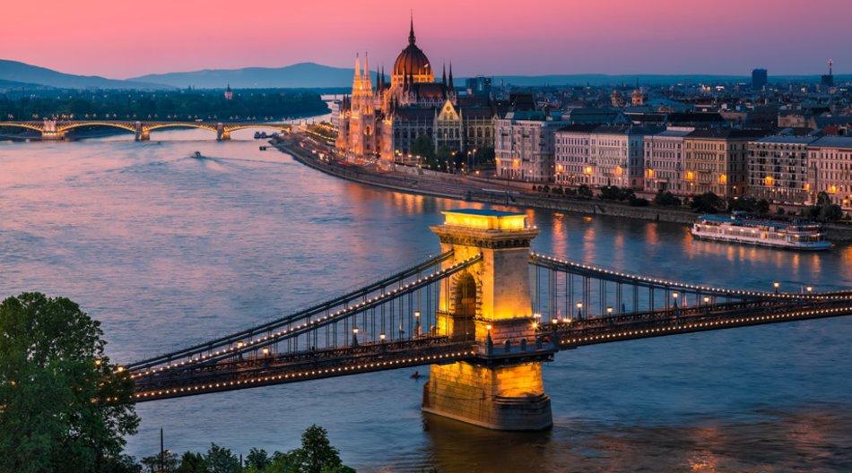 In Budapest kann man gut Silvester feiern.
