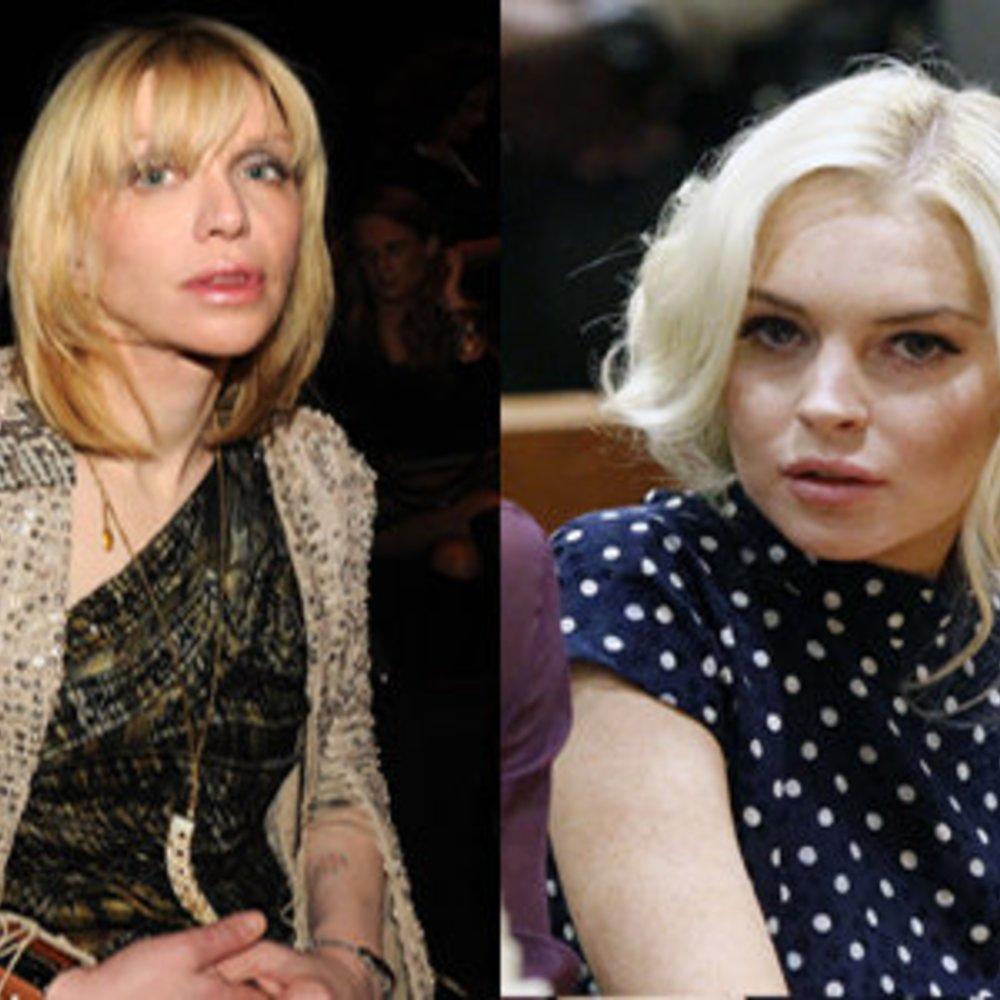 Courtney Love will Lindsay Lohan helfen