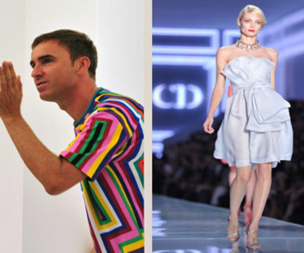 Dior bald mit Raf Simons?