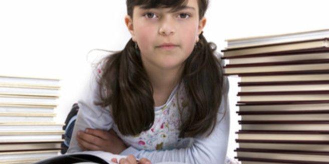 Viele Grundschüler sind gestresst.