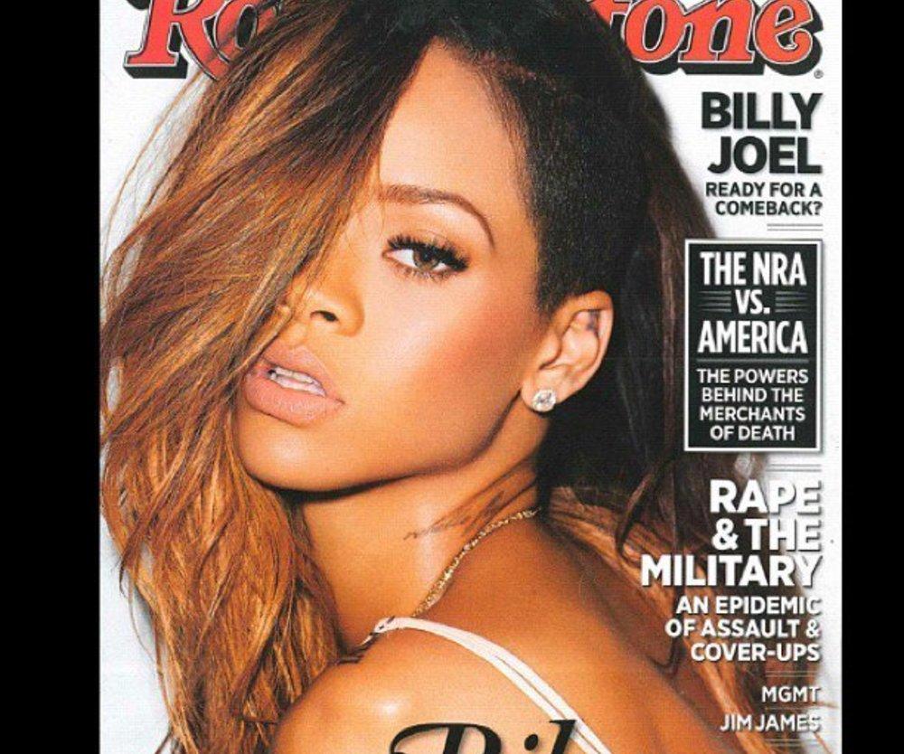 Rihanna hat sich den Kopf rasiert!