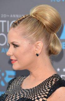 Carrie Keagan: Haarknoten mit Flechtarrangement