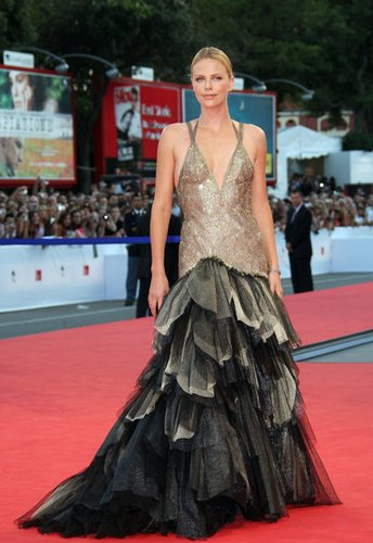 Charlize Theron in Venedig