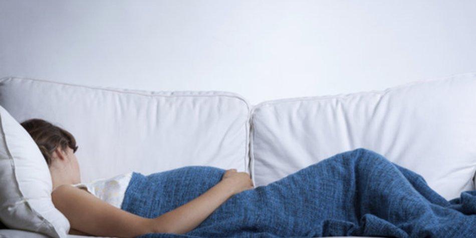 Auskurieren bei Gürtelrose in der Schwangerschaft.