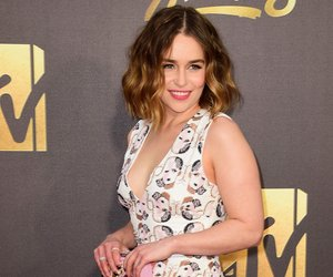 BURBANK, CALIFORNIA - APRIL 09: Actress Emilia Clarke attends the 2016 MTV Movie Awards at Warner Bros. Studios on April 9, 2016 in Burbank, California. MTV Movie Awards airs April 10, 2016 at 8pm ET/PT. (Photo by Frazer Harrison/Getty Images)