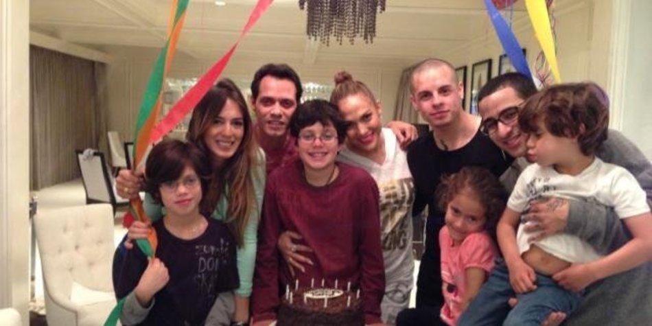 Jennifer Lopez: Geburtstagsfeier mit dem Ex und dem Neuen!