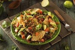 Nachos überbacken mit Gemüse