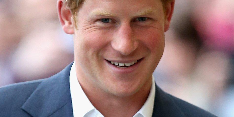 Prinz Harry hat einen neuen, wilden Look