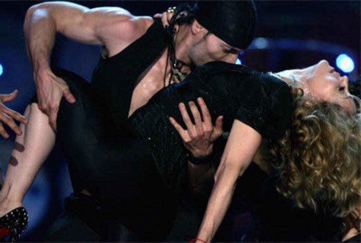 Wilde Show bei Madonna