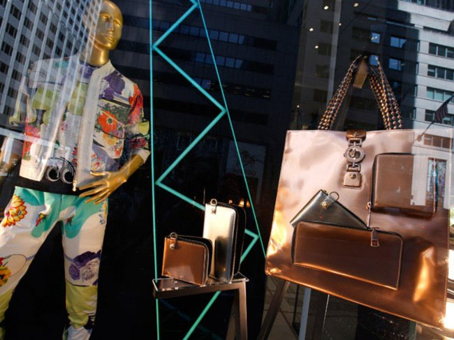 Schaufenster an der 5th Avenue