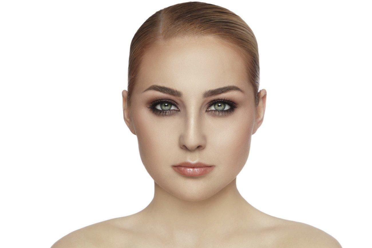 Grüne Augen schminken - Smokey Eyes
