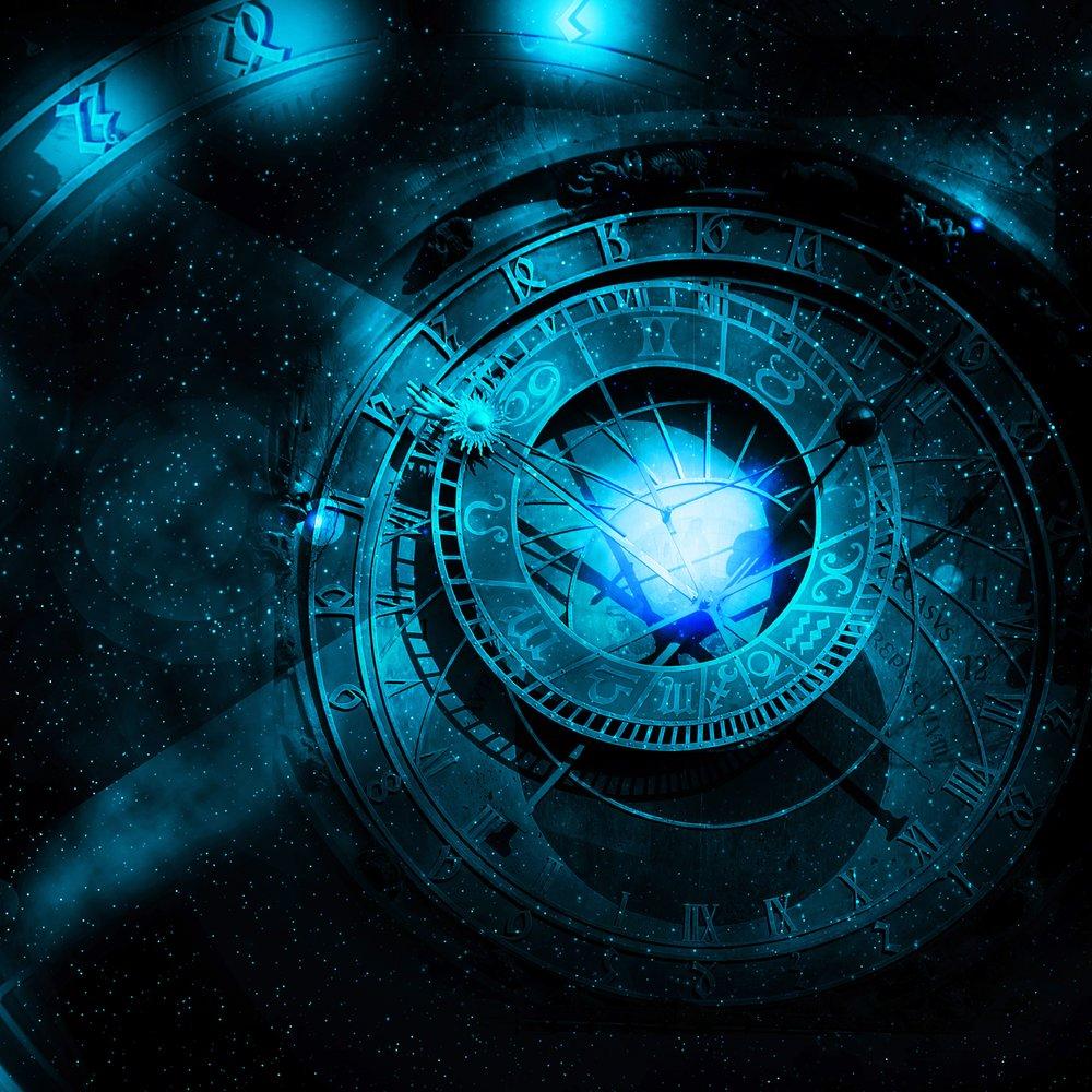 astrology universe concept