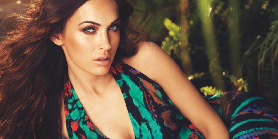Mit ihrem verführerischen Augenaufschlag ist Megan Fox das perfekte Werbegesicht.
