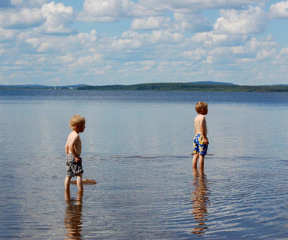 Badesee gefährlich für Kinder