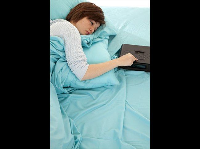 Genügend Schlaf