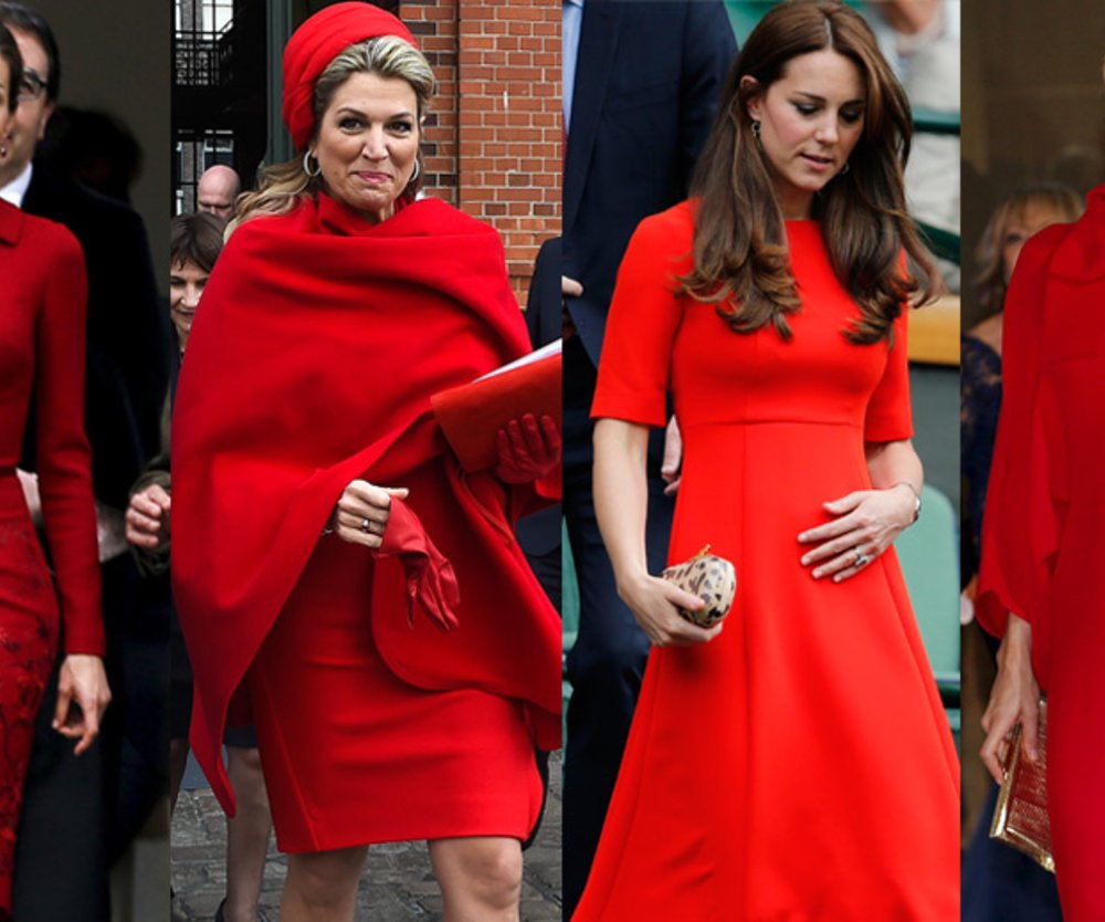 Royals in Rot