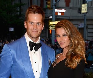 """NEW YORK, NY - MAY 06: Tom Brady and Gisele Bundchen attend the Costume Institute Gala for the """"PUNK: Chaos to Couture"""" exhibition at the Metropolitan Museum of Art on May 6, 2013 in New York City. (Photo by Larry Busacca/Getty Images)"""