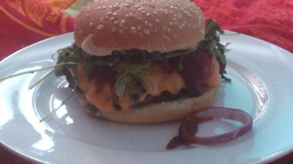 Kidneybohnen Burger