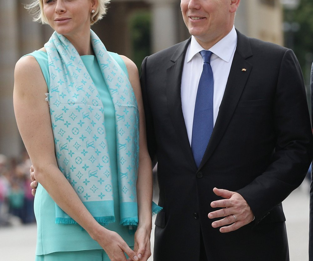 Charlène von Monaco in FlipFlops