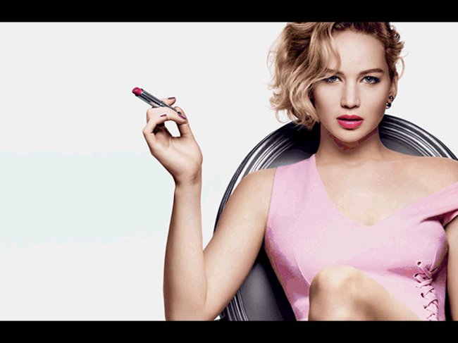 Jennifer Lawrence für Dior