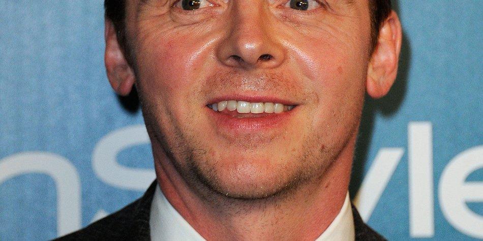 Simon Pegg: Begeistert von Tom Cruise