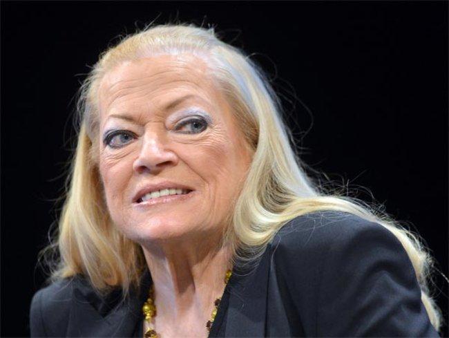 Anita Ekberg bei der Berlinale