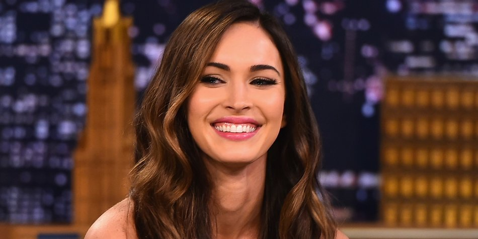 "NEW YORK, NY - AUGUST 06: Megan Fox Visits ""The Tonight Show Starring Jimmy Fallon"" at Rockefeller Center on August 6, 2014 in New York City. (Photo by Theo Wargo/NBC/Getty Images for ""The Tonight Show Starring Jimmy Fallon"")"
