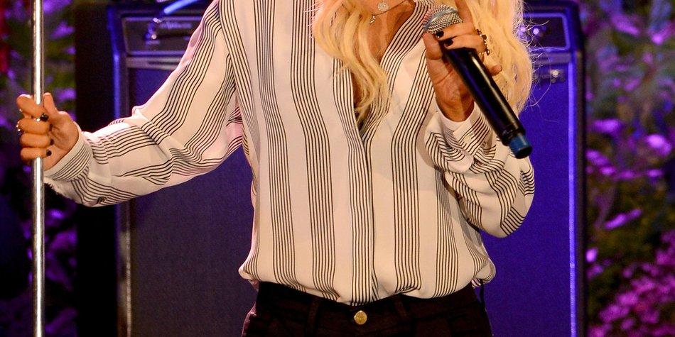 Christina Aguilera: Angst vor Gewichtszunahme!