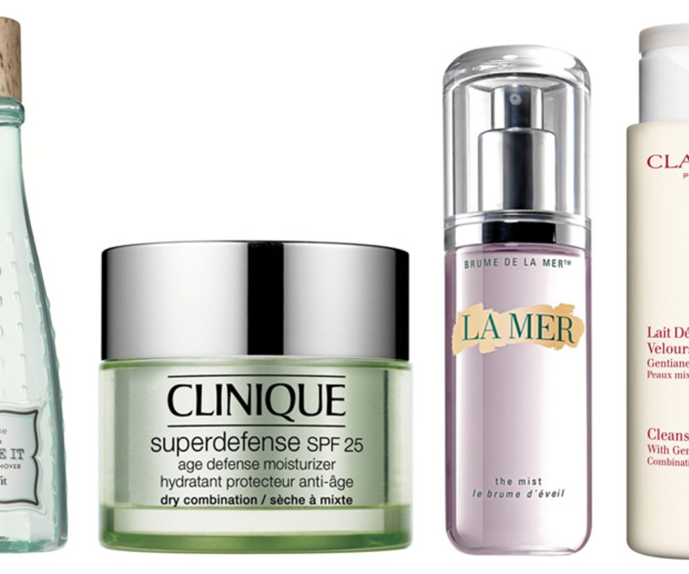 Benefit, Clarins, Clinique, La Mer
