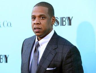 Jay-Z auf dem roten Teppich