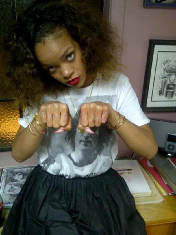 Geht Rihanna jetzt unter die Gangster?
