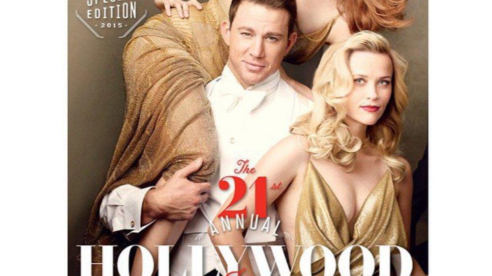 Channing Tatum ist umgeben von schönen Frauen