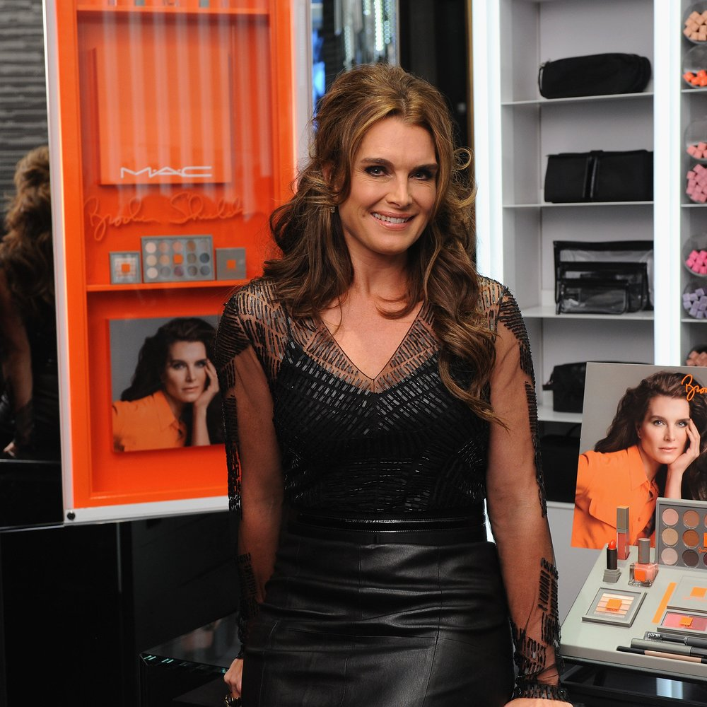 Brooke Shields lanciert eigene Make-up-Linie
